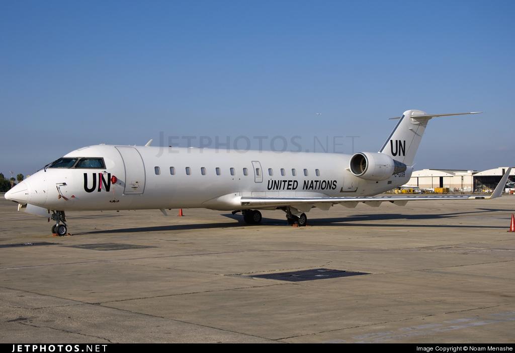 C-GIXR - Bombardier CRJ-200ER - United Nations (Voyageur Airways)