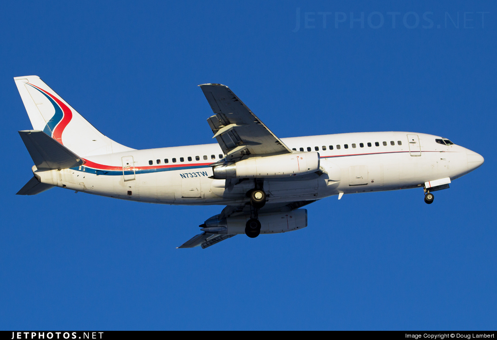 N733TW - Boeing 737-2H4(Adv) - Ameristar Jet Charter