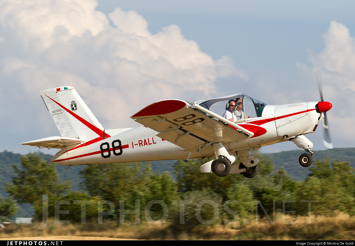 I-RALL - Morane-Saulnier MS-885 Super Rallye - Private