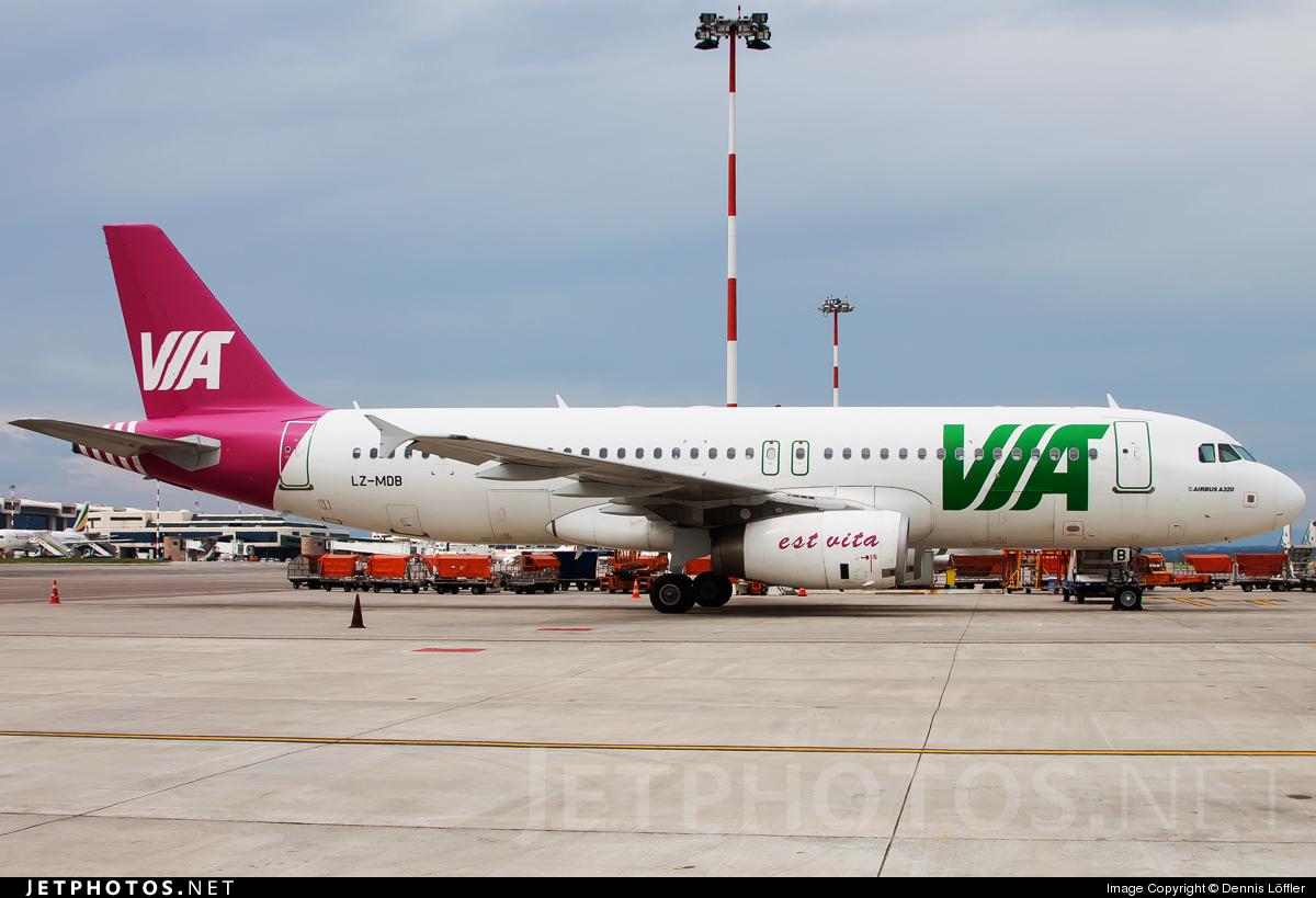 LZ-MDB - Airbus A320-232 - Air Via