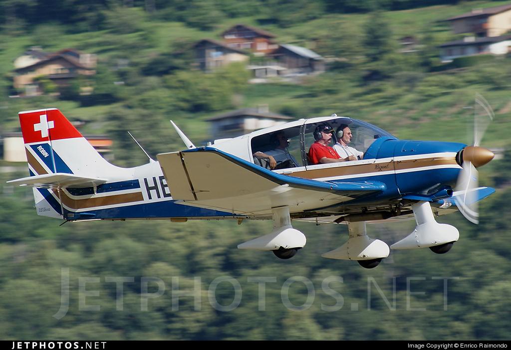 HB-EQB - Robin DR400/180 Régent - Private