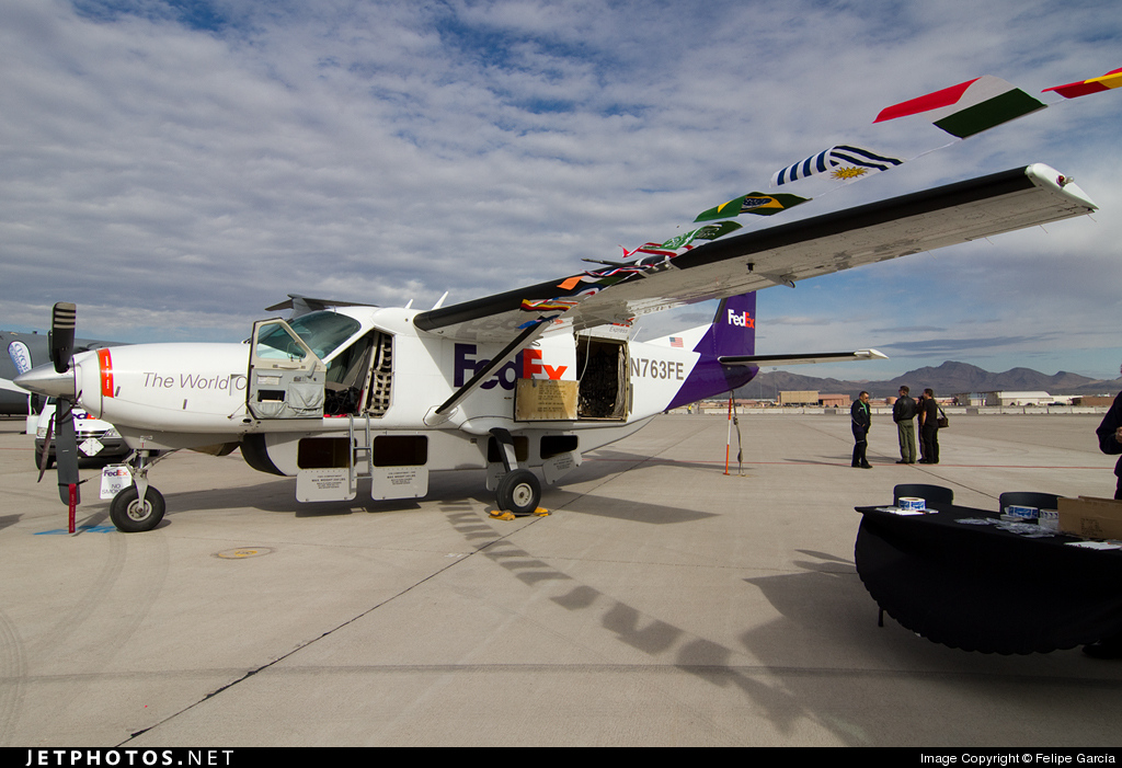 N763FE - Cessna 208B Super Cargomaster - FedEx (Empire Airlines)