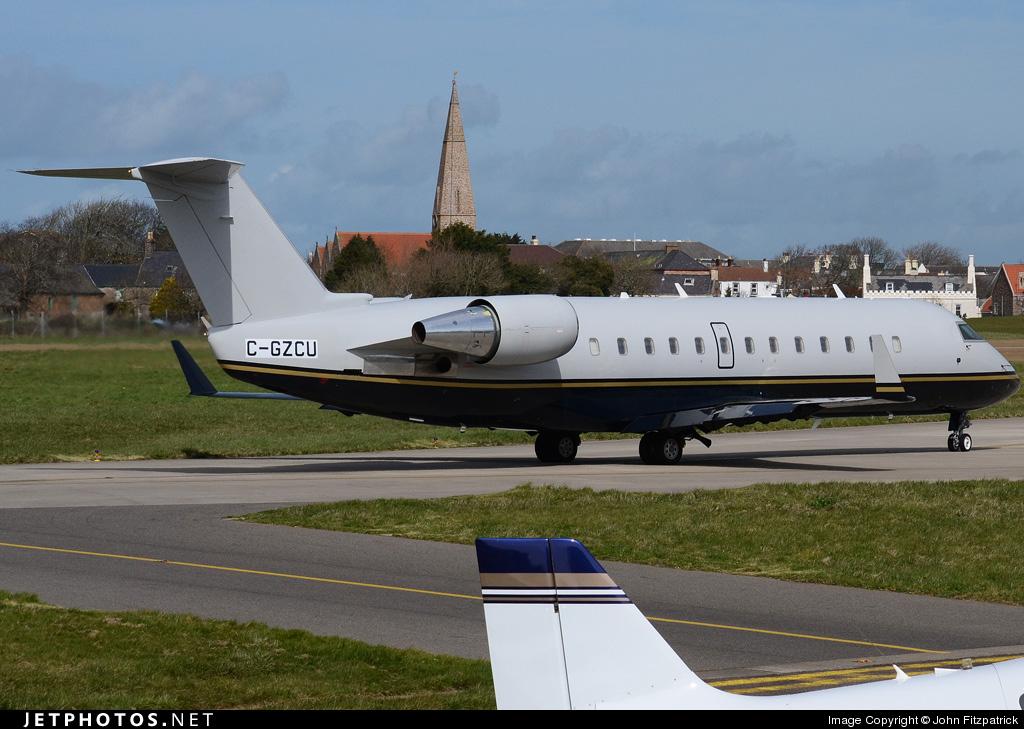 C-GZCU - Bombardier CRJ-100SE - Private