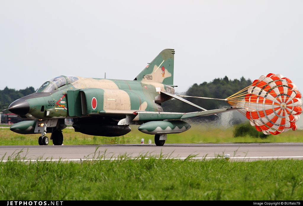47-6903 - McDonnell Douglas RF-4E Kai - Japan - Air Self Defence Force (JASDF)