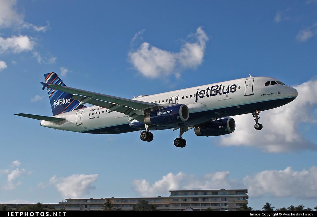 N599JB - Airbus A320-232 - jetBlue Airways