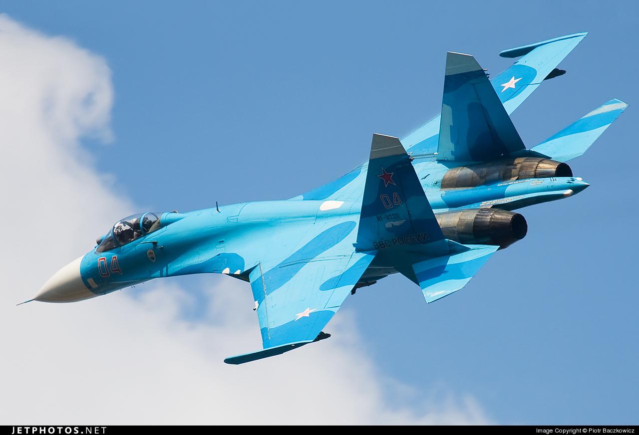 RF-92211 - Sukhoi Su-27SMK Flanker - Russia - Air Force