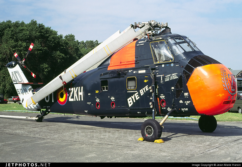 OT-ZKH - Sikorsky HSS-1 Seabat - Belgium - Air Force
