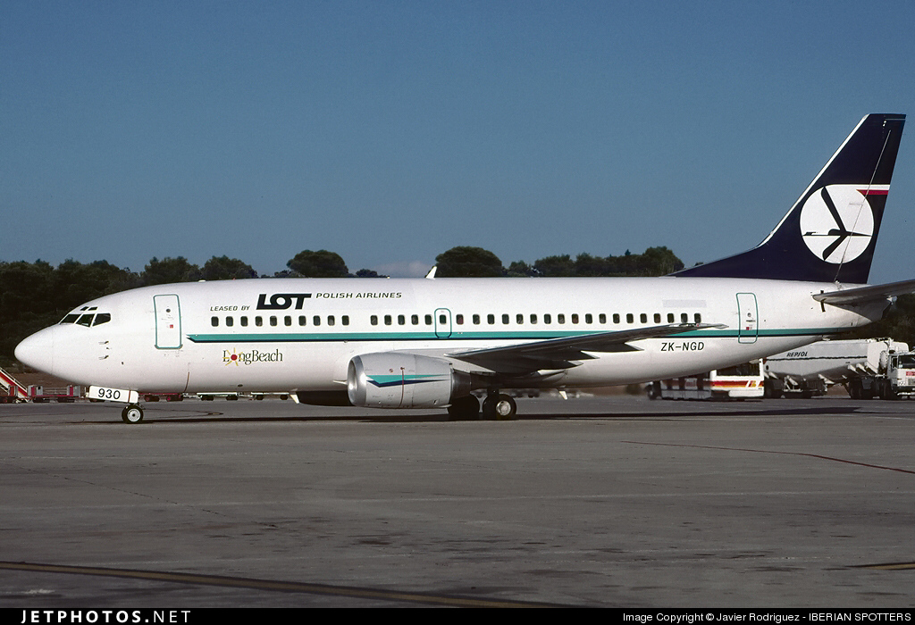 ZK-NGD - Boeing 737-3U3 - LOT Polish Airlines