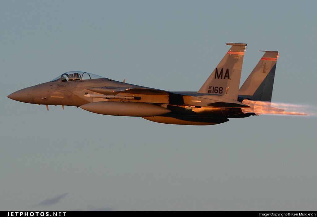86-0168 - McDonnell Douglas F-15C Eagle - United States - US Air Force (USAF)