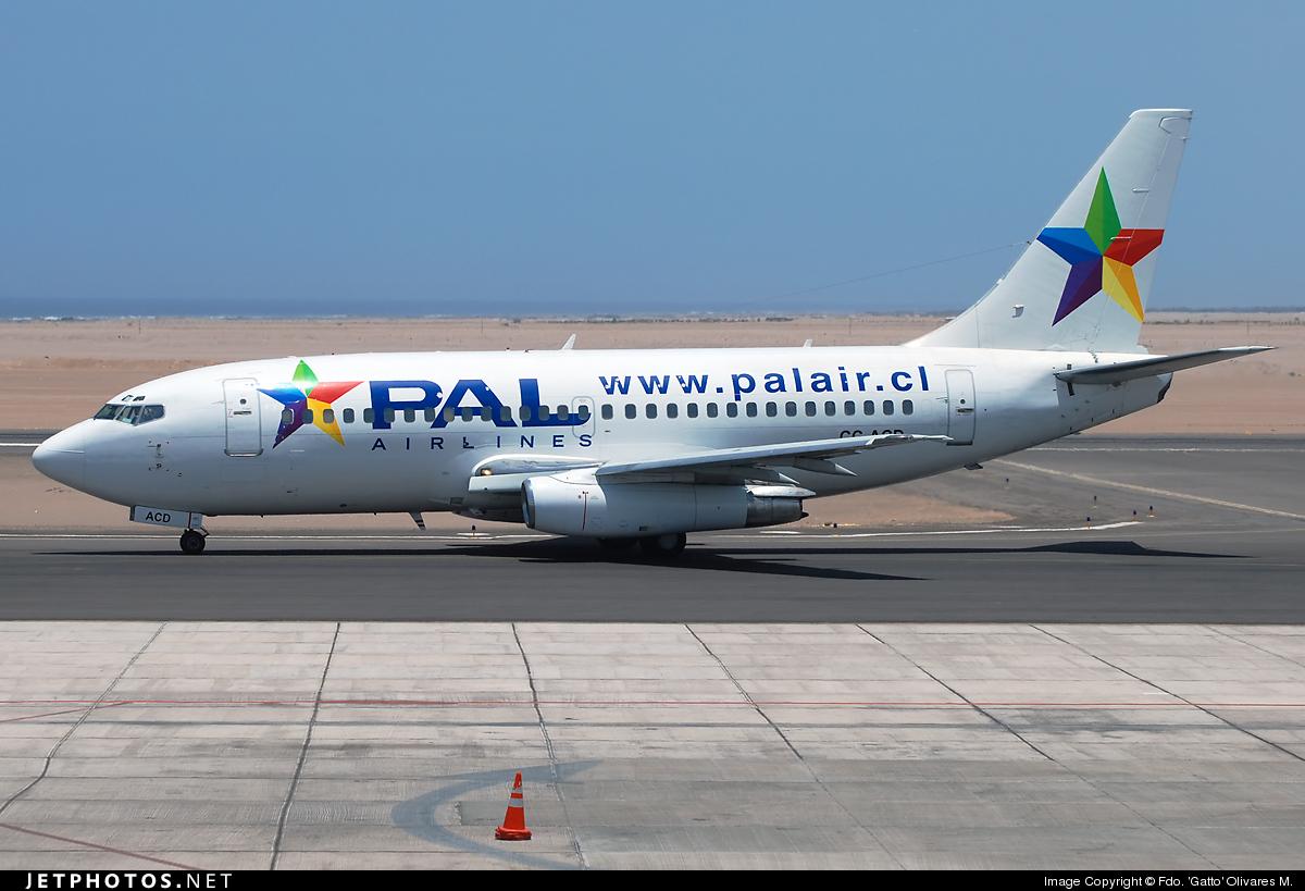CC-ACD - Boeing 737-2K9(Adv) - PAL - Principal Airlines