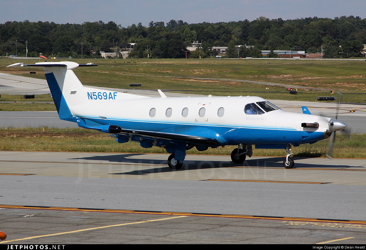 N569AF - Pilatus PC-12/45 - Private