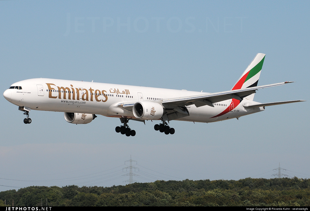 A6-EMO - Boeing 777-31H - Emirates