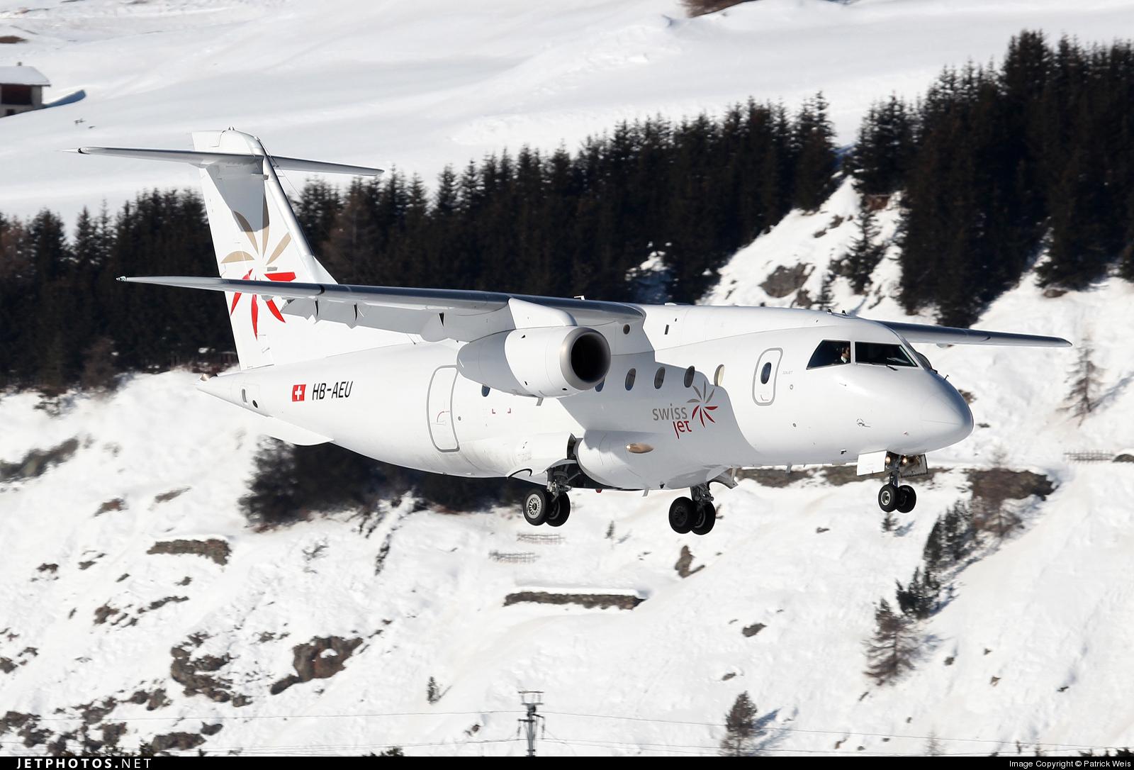 HB-AEU - Dornier Do-328-300 Jet - Swiss Jet