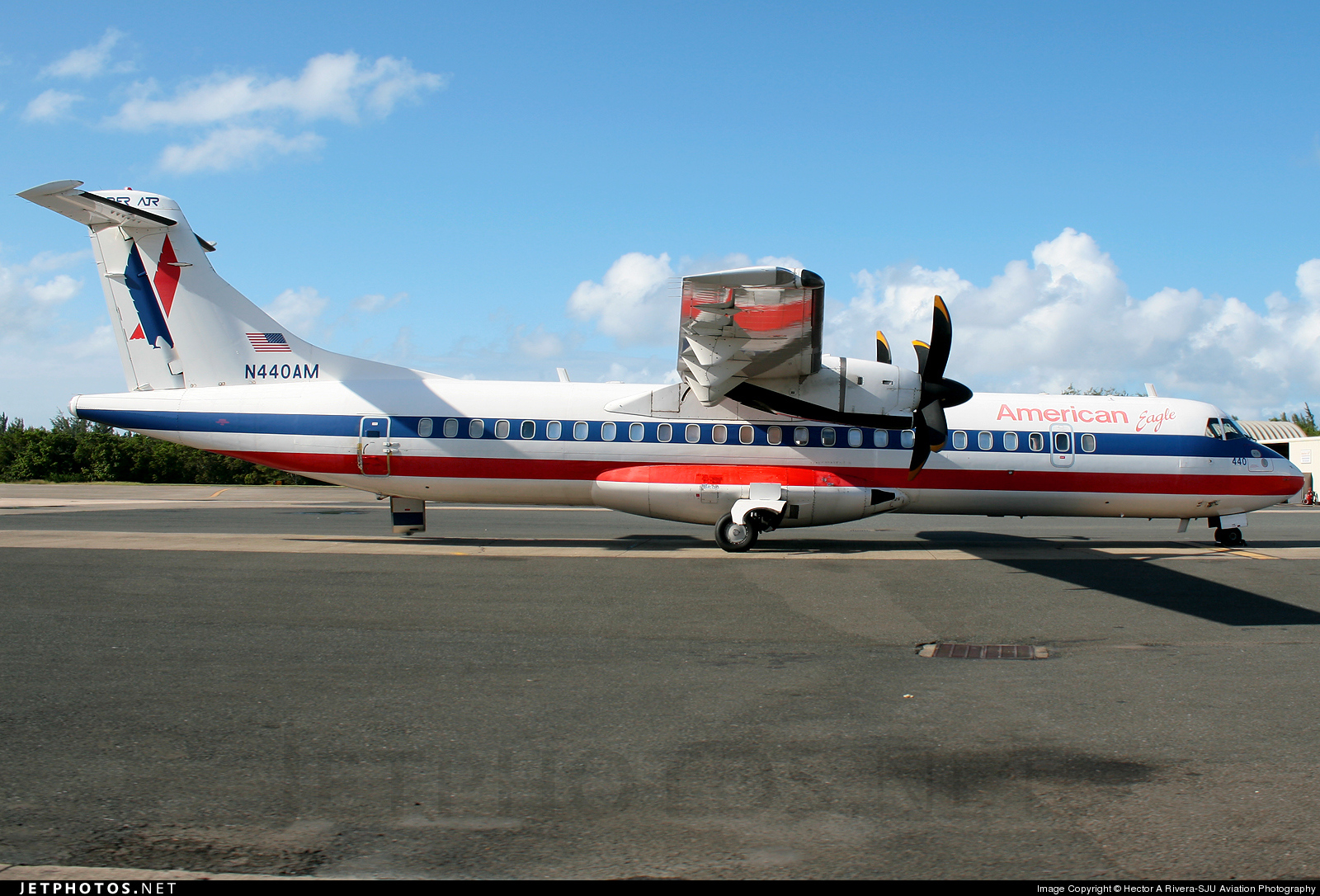 N440AM - ATR 72-212 - American Eagle (Executive Airlines)
