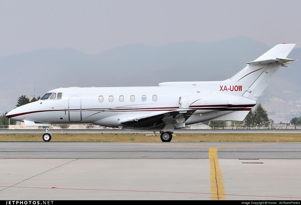 XA-UOW - British Aerospace BAe 125-700B - Private