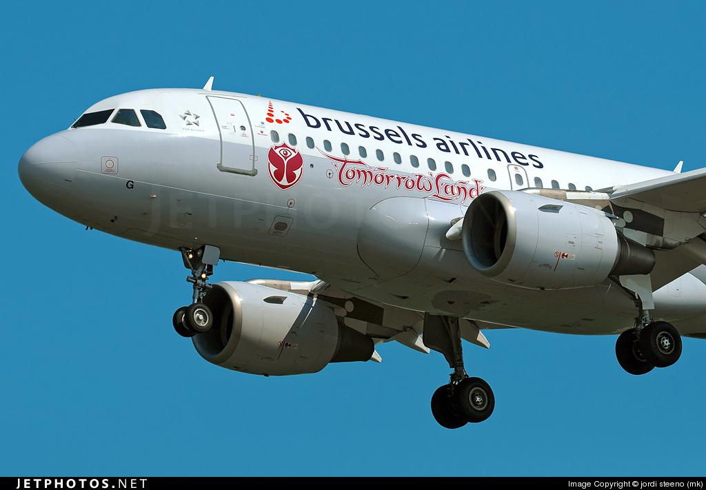 OO-SSG | Airbus A319-112 | Brussels Airlines | jordi steeno