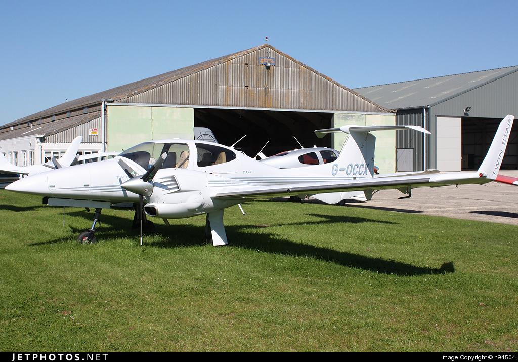 G-OCCX - Diamond DA-42 Twin Star - Private