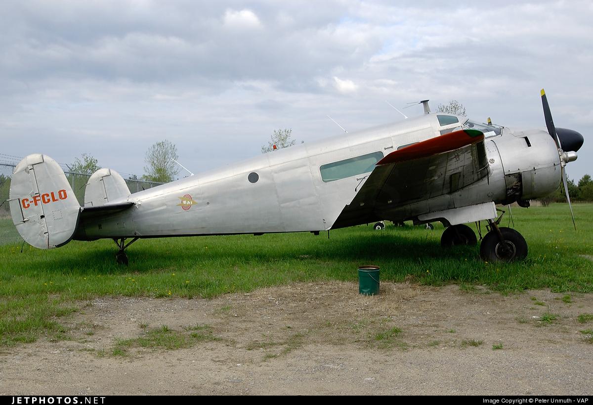C-FCLO - Beechcraft E18S - Private