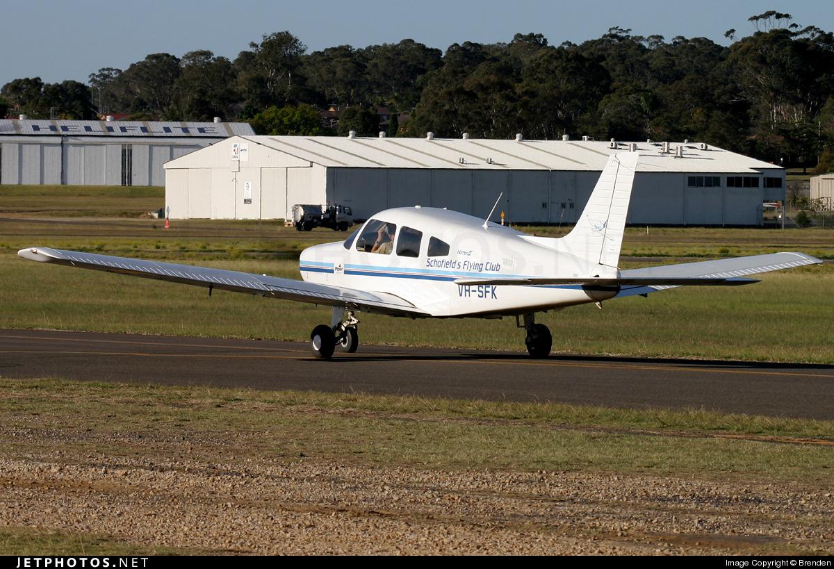 VH-SFK - Piper PA-28-161 Warrior III - Schofields Flying Club