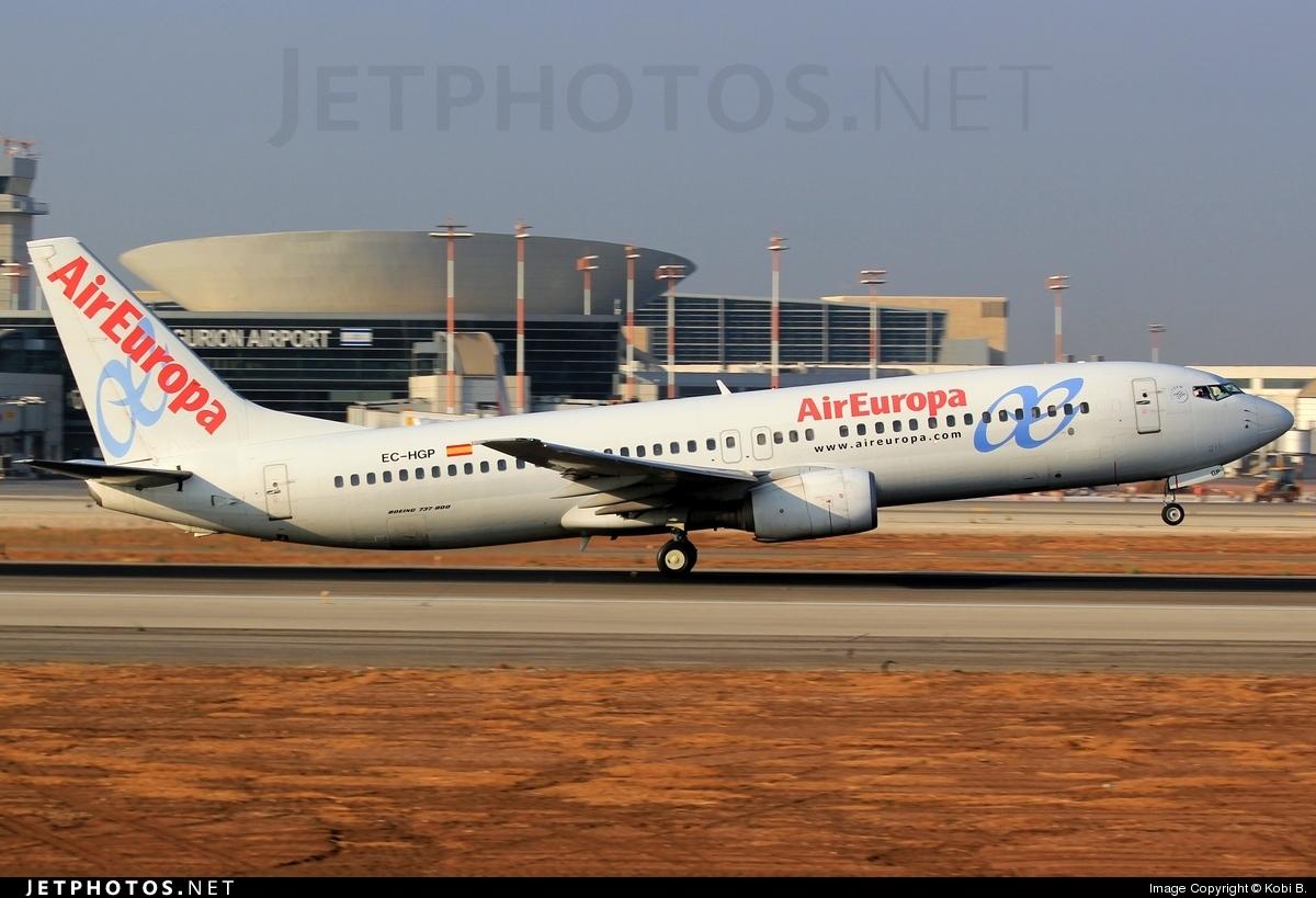 EC-HGP - Boeing 737-85P - Air Europa