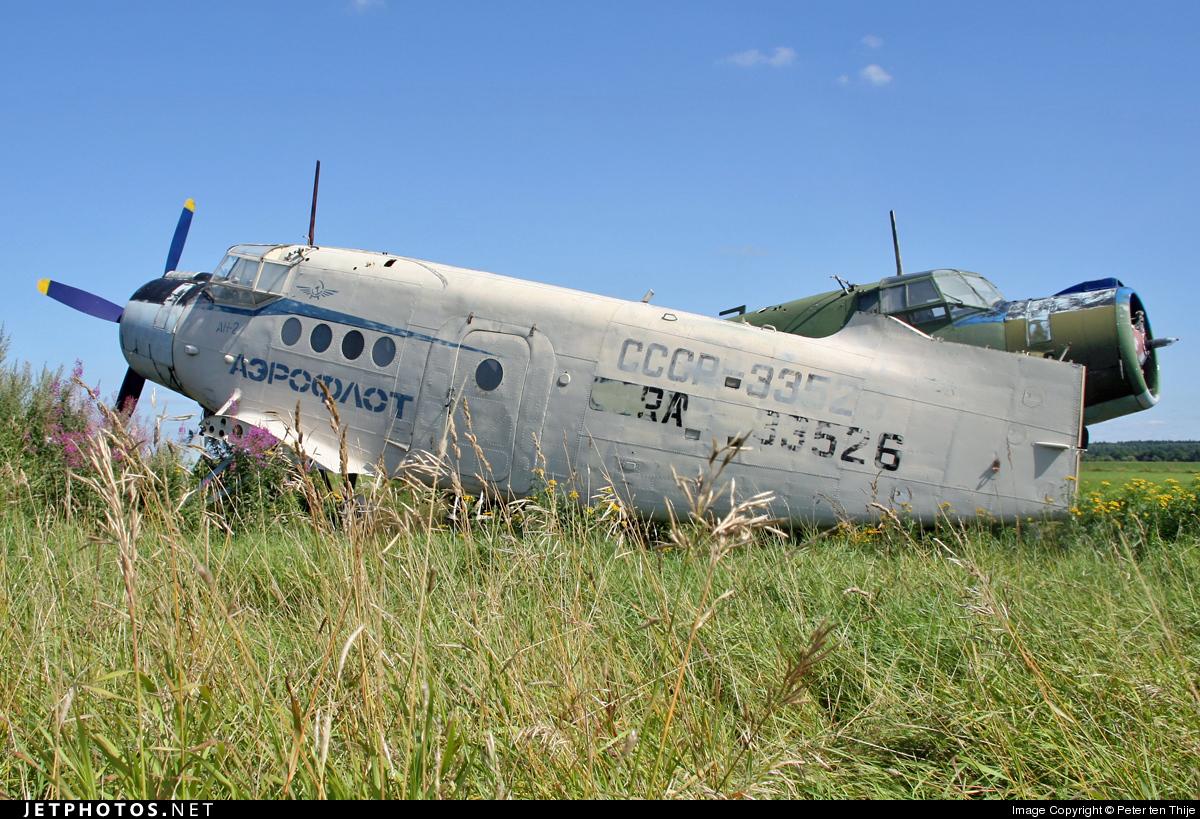 RA-33526 - PZL-Mielec An-2R - Aeroflot