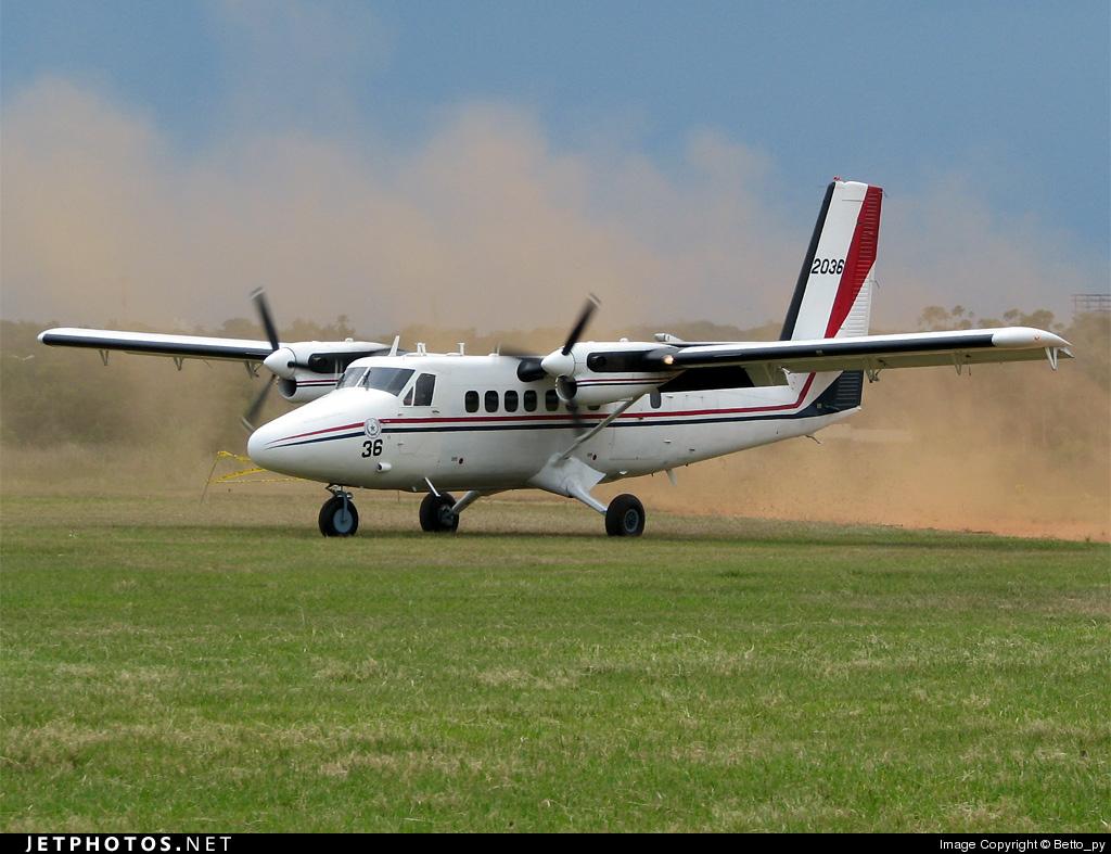 FAP-2036 - De Havilland Canada DHC-6-200 Twin Otter - Paraguay - Air Force