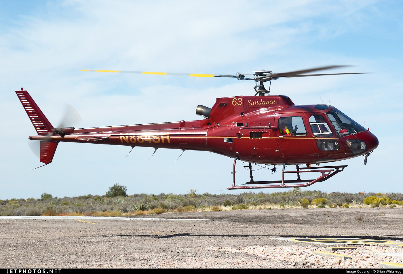 N884SH - Eurocopter AS 350B2 Ecureuil - Sundance Helicopters
