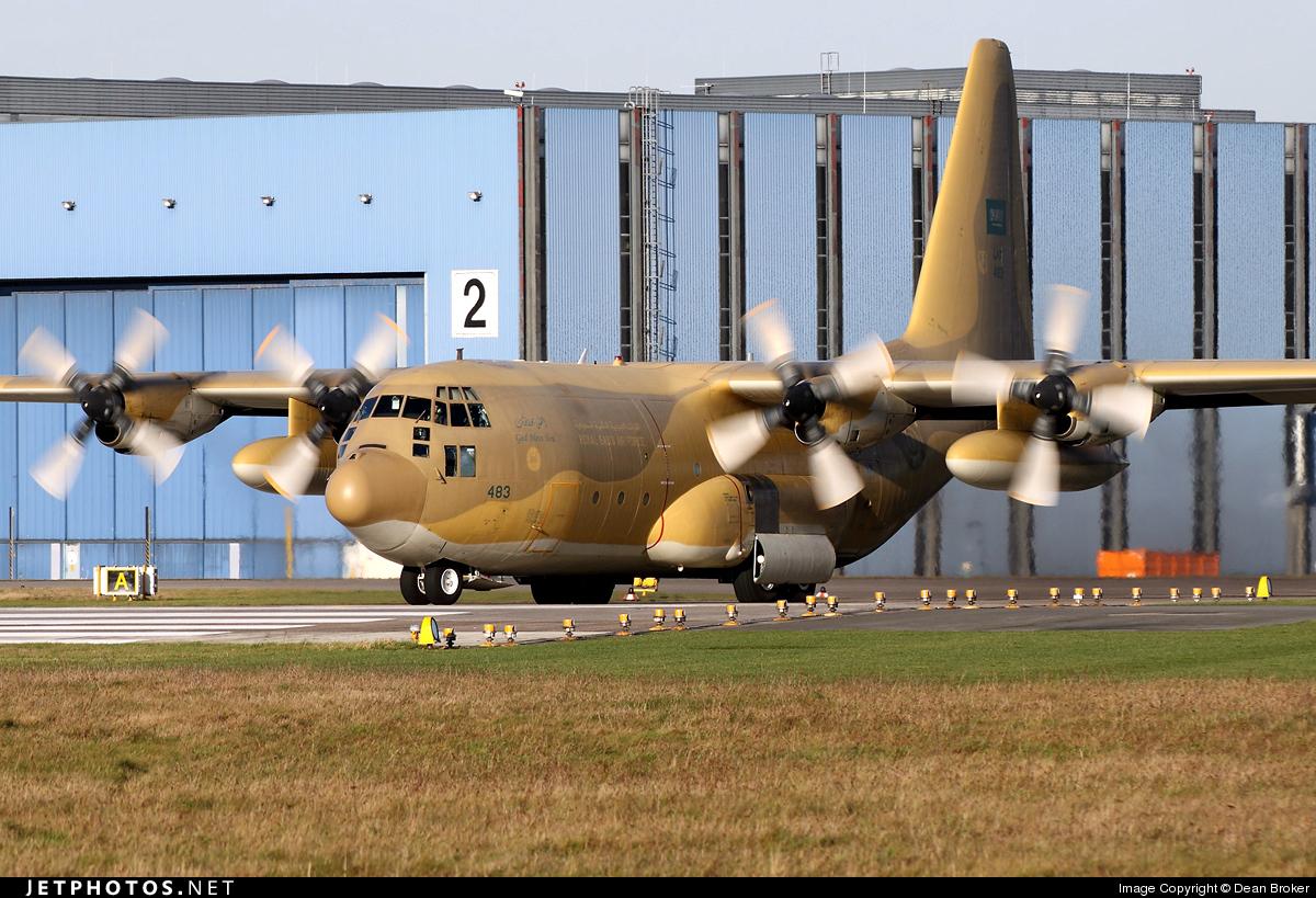 483 - Lockheed C-130H Hercules - Saudi Arabia - Air Force