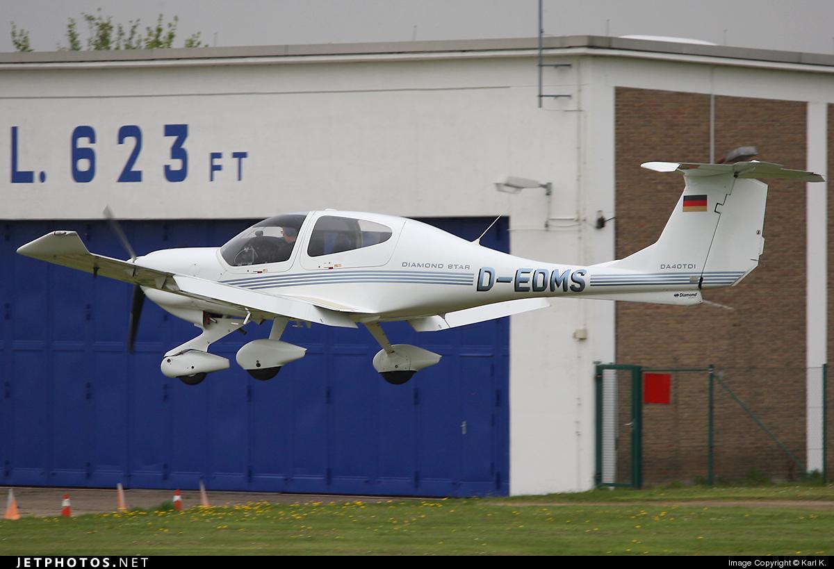 D-EDMS - Diamond DA-40D Diamond Star TDI - Private