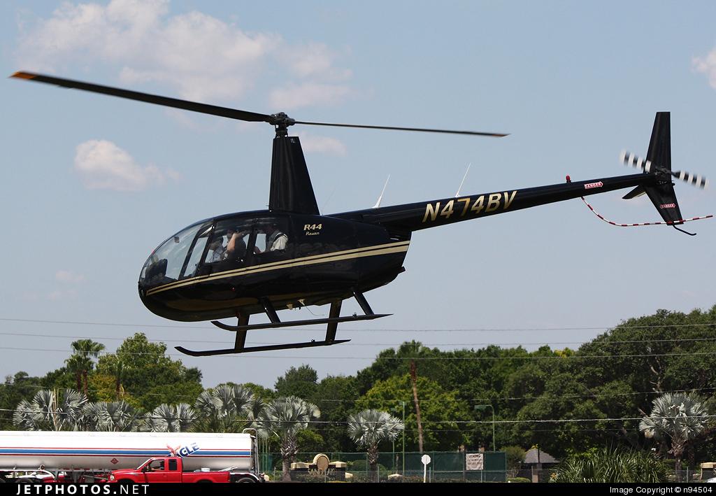 N474BV - Robinson R44 Raven - Private