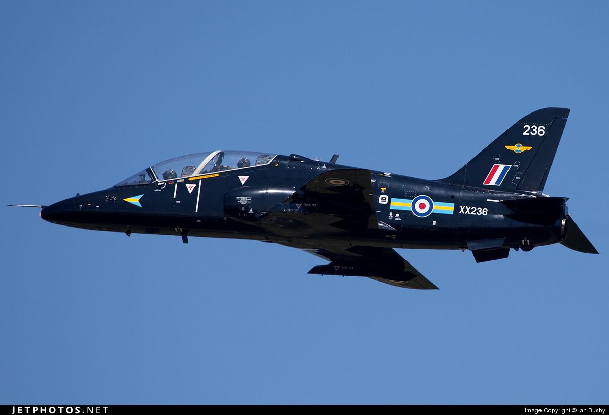 XX236 - British Aerospace Hawk T.1W - United Kingdom - Royal Air Force (RAF)
