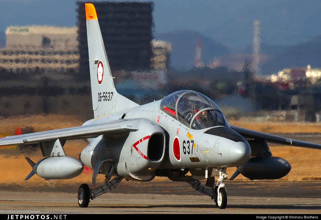 06-5637 - Kawasaki T-4 - Japan - Air Self Defence Force (JASDF)