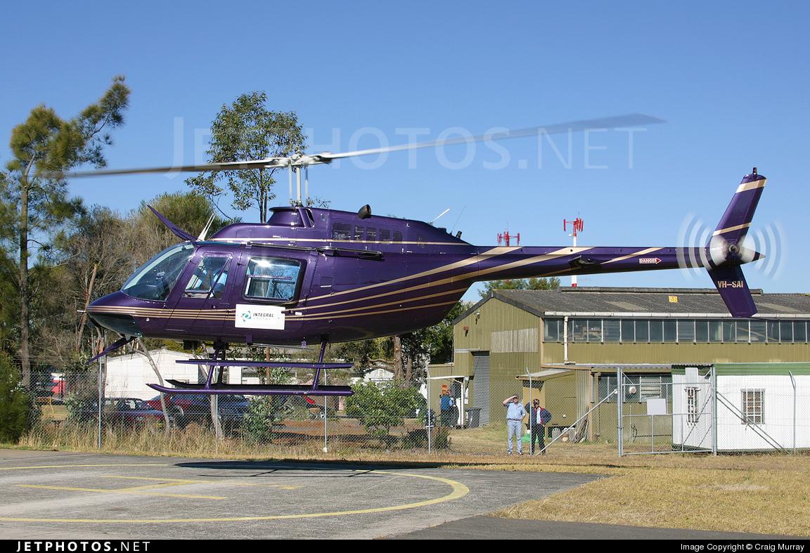 VH-SAI - Bell 206B JetRanger II - Sydney Helicopters