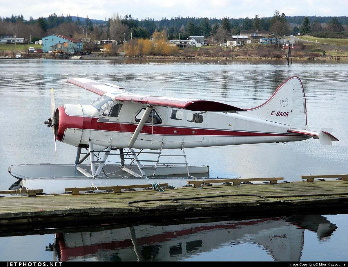 C-GACK - De Havilland Canada DHC-2 Mk.I Beaver - Private