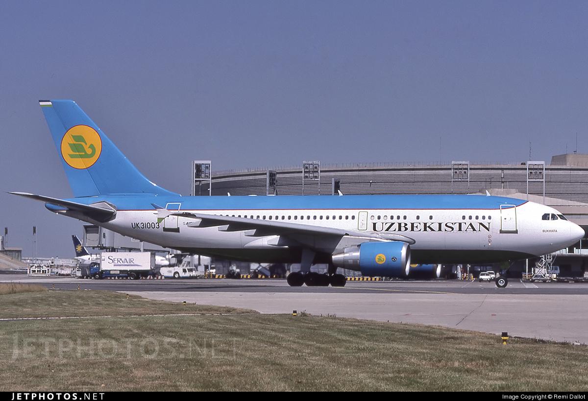 UK-31003 - Airbus A310-324 - Uzbekistan Airways