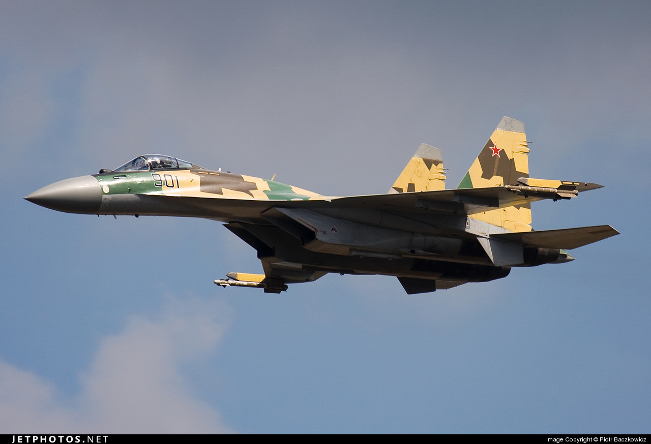 901 - Sukhoi Su-35 Super Flanker - Russia - Air Force