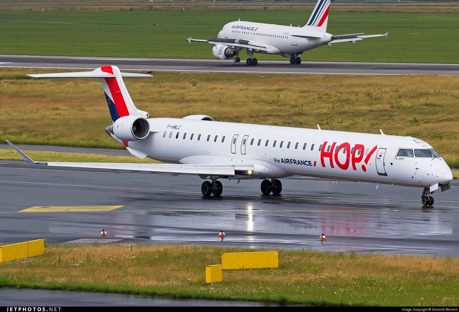 F-HMLC - Bombardier CRJ-1000EL - HOP! for Air France