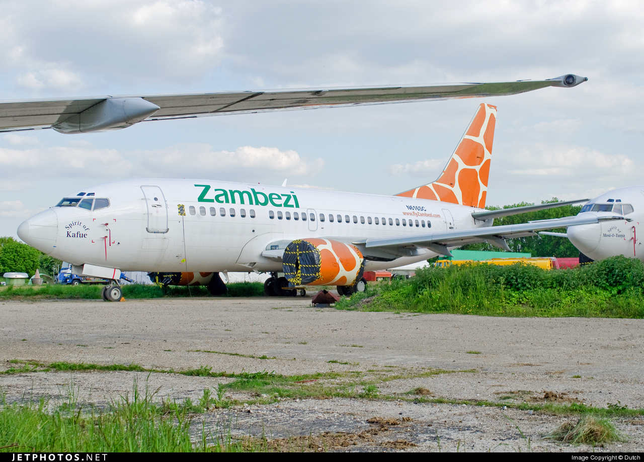 N616SC - Boeing 737-529 - Zambezi Airlines