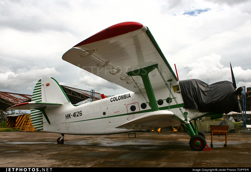 HK-4126 - Antonov An-2 - Private