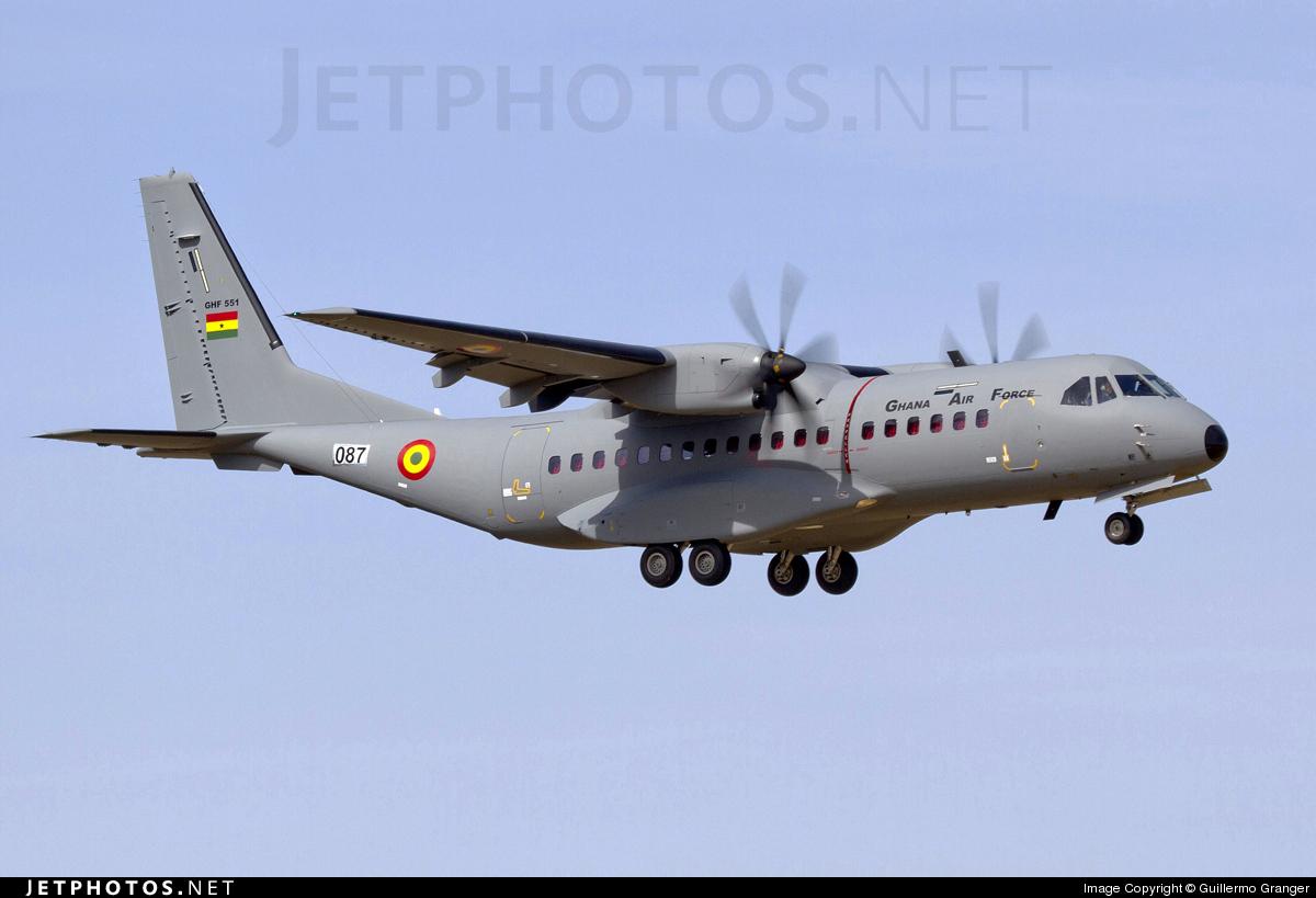 GHF551 - CASA C-295M - Ghana - Air Force