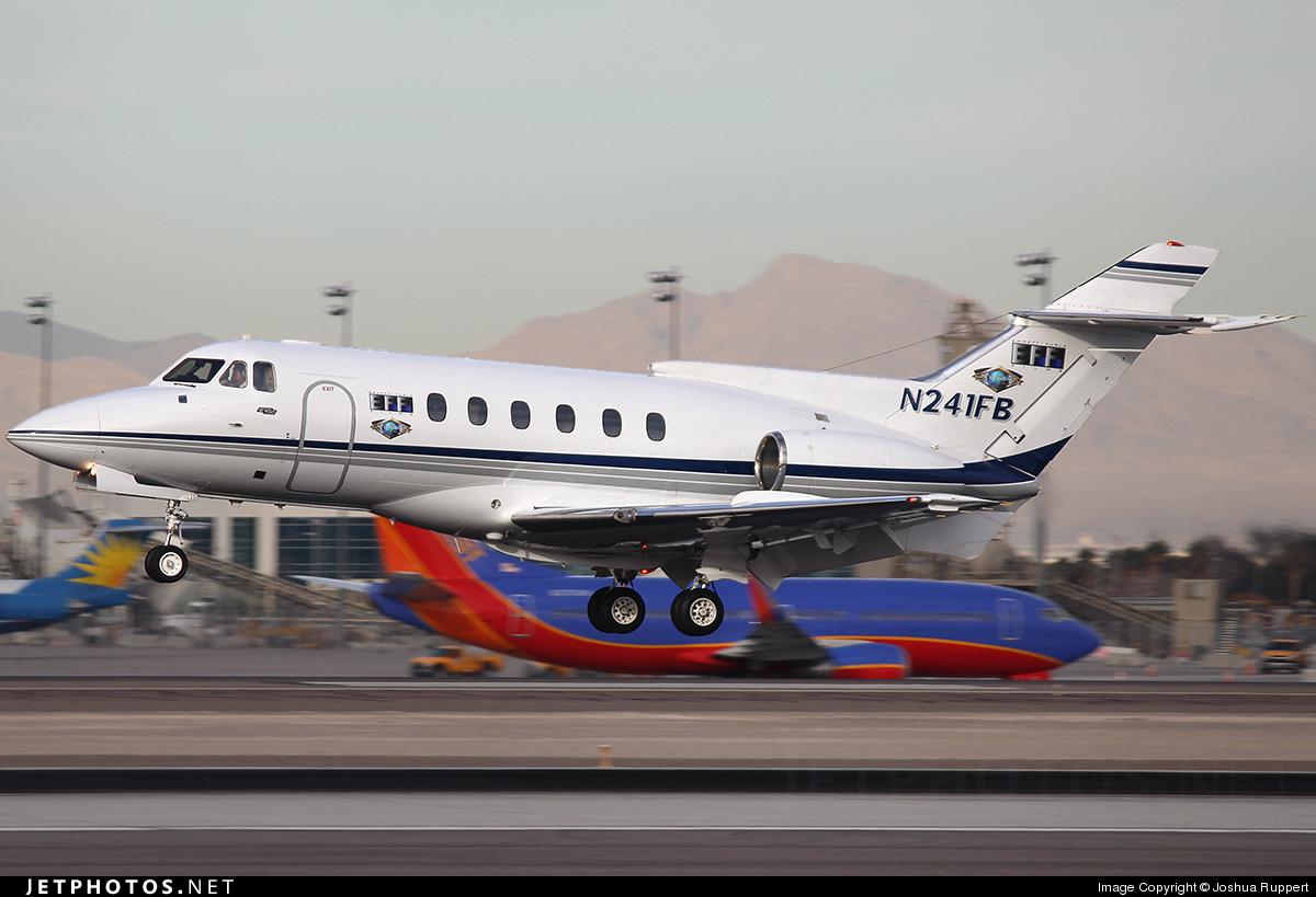 N241FB - British Aerospace BAe 125-700B - Private