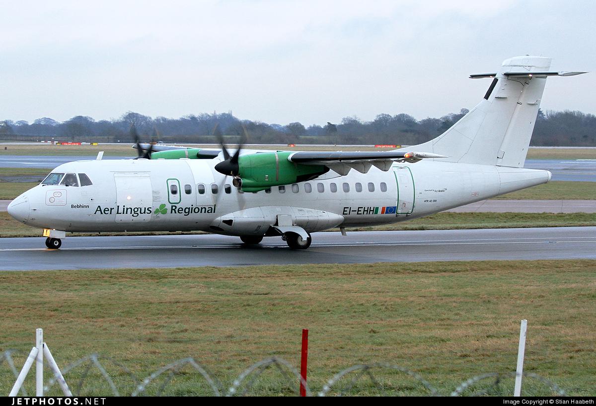 EI-EHH - ATR 42-300 - Aer Lingus Regional (Aer Arann)