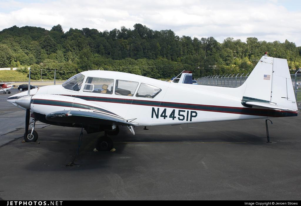 N4451P - Piper PA-23-160 Apache G - Private