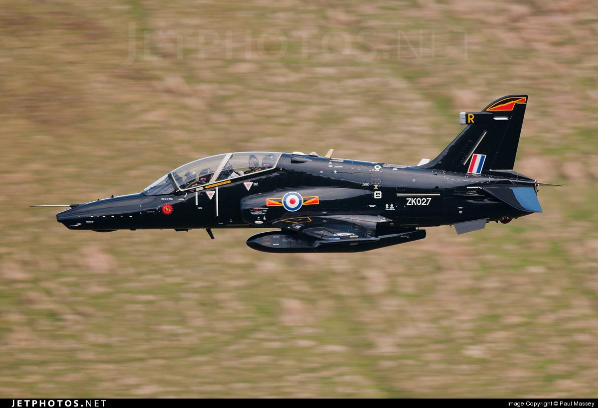 ZK027 - British Aerospace Hawk T.2 - United Kingdom - Royal Air Force (RAF)