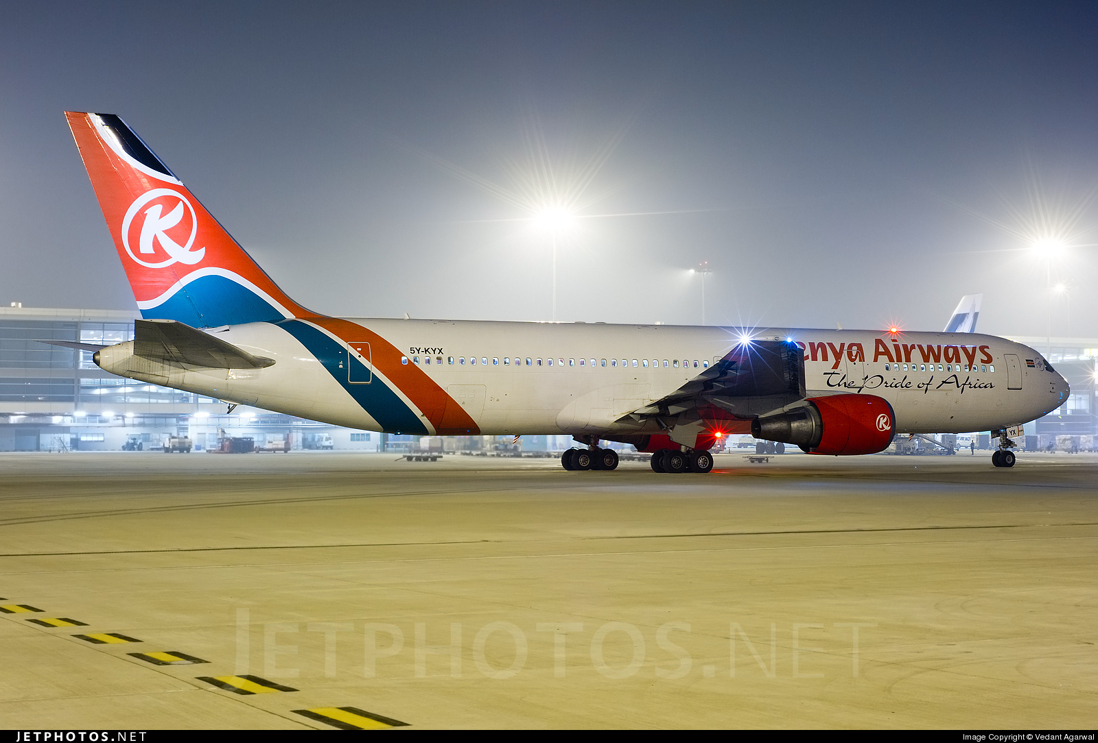 5Y-KYX - Boeing 767-3P6(ER) - Kenya Airways