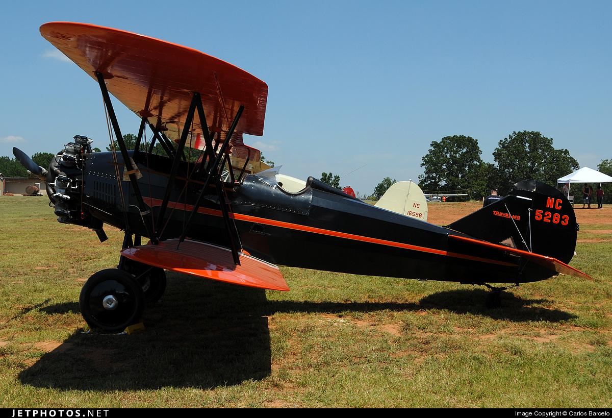 NC5283 - Curtiss-Wright Travel Air 4000 - Private