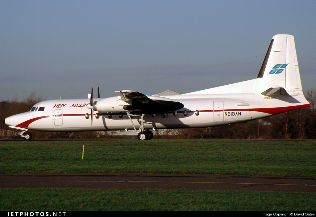N515AW - Fokker F27-500 Friendship - NEPC Airlines