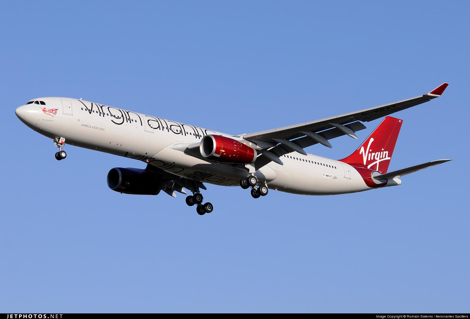 F-WWKF - Airbus A330-343 - Virgin Atlantic Airways