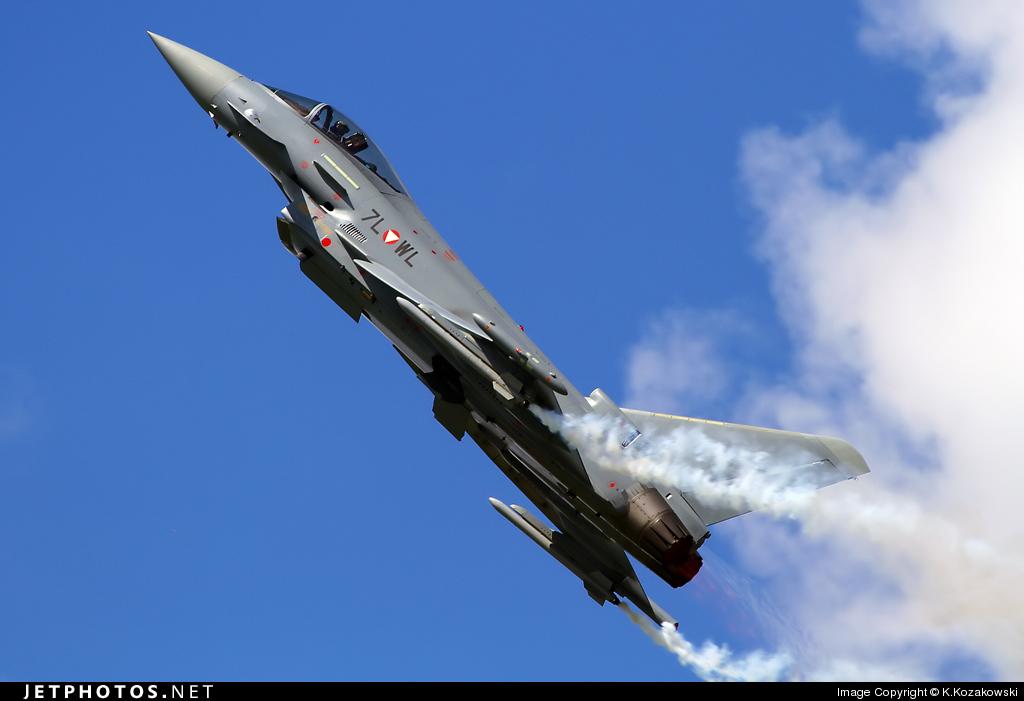 7L-WL - Eurofighter Typhoon EF2000 - Austria - Air Force