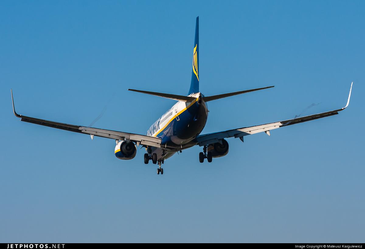 EI-DLN - Boeing 737-8AS - Ryanair